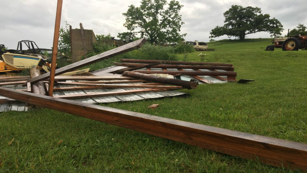 Teen only one inside Argyle home when tornado hit