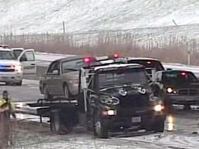 Traffic crews bracing for a day of stranded cars