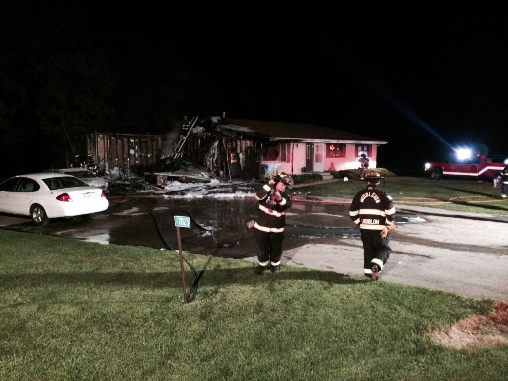 No one hurt in Town of Springfield house fire