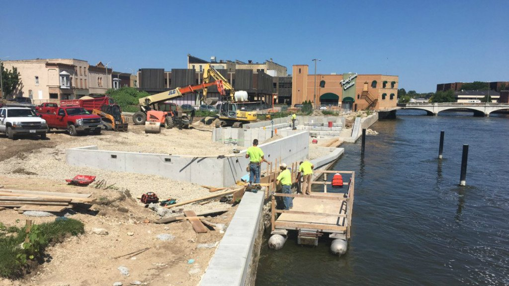 Janesville's Town Square coming together