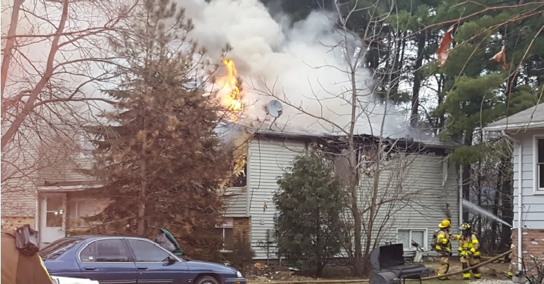 4 displaced after a duplex fire in Town of Burke