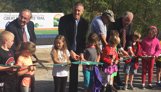 Phase one of Great Sauk State Trail is now open