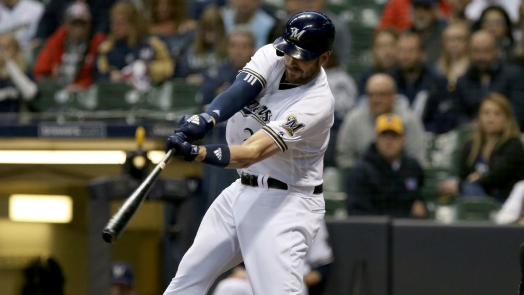 Brewers win again, 5-1 over Padres