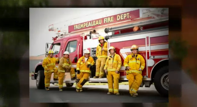 Calendar featuring firefighters heats up Trempealeau Co.