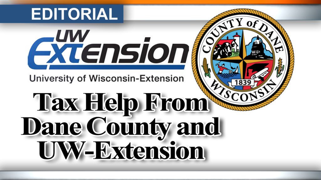 Editorial: Tax help from Dane County and UW-Extension