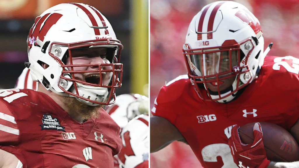 Wisconsin's Taylor, Biadasz named to AP All-America team