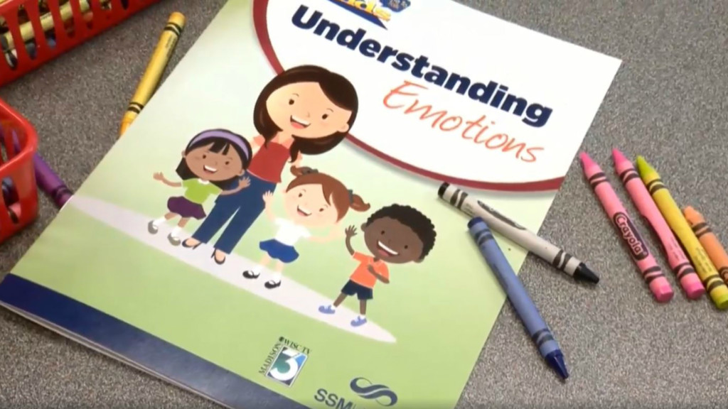 Time to Talk: 'Understanding Emotions' activity book helps kids manage feelings