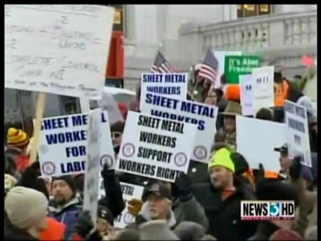 Wis. unions demand stop to certification elections