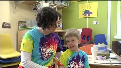 UW's youngest students on the move