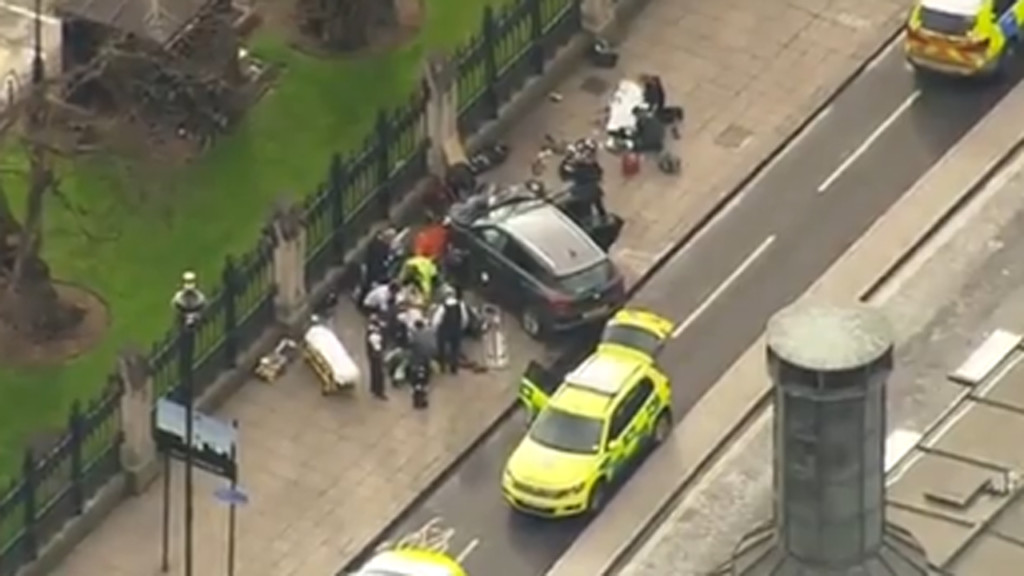Police treating UK parliament attack as terror