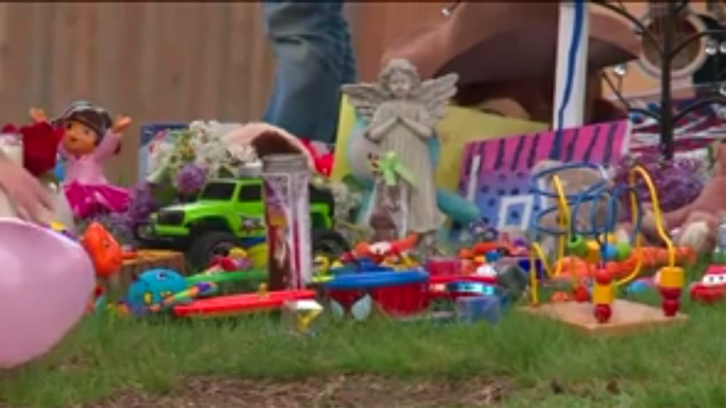 Child run over by dad in driveway dies