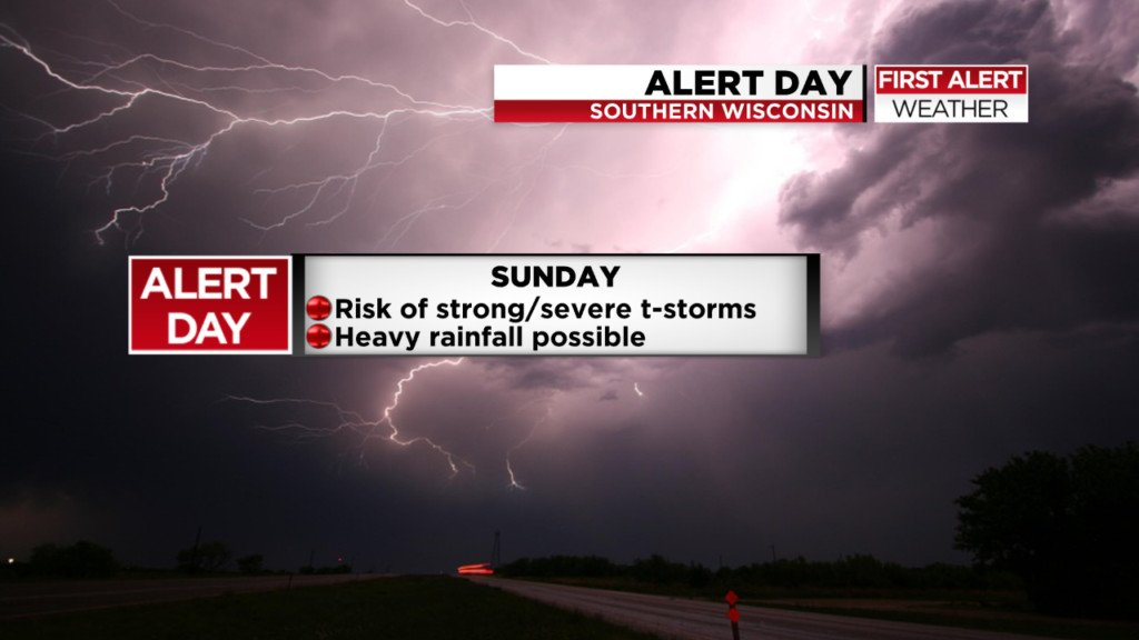 Severe storms and heavy rain possible tonight