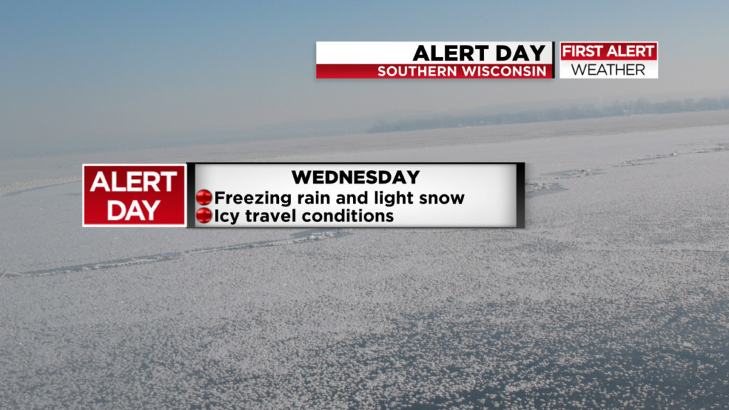 Icy travel still possible as snow ends