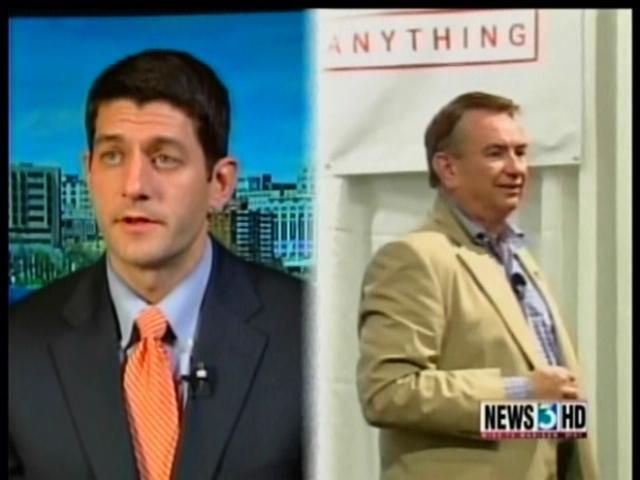 Ryan fires up GOP base at Thompson fundraiser