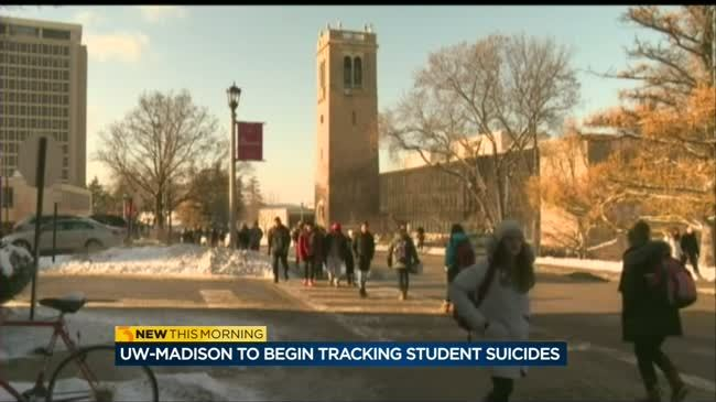 UW-Madison working to finalize a database to track students' cause of death, including suicide