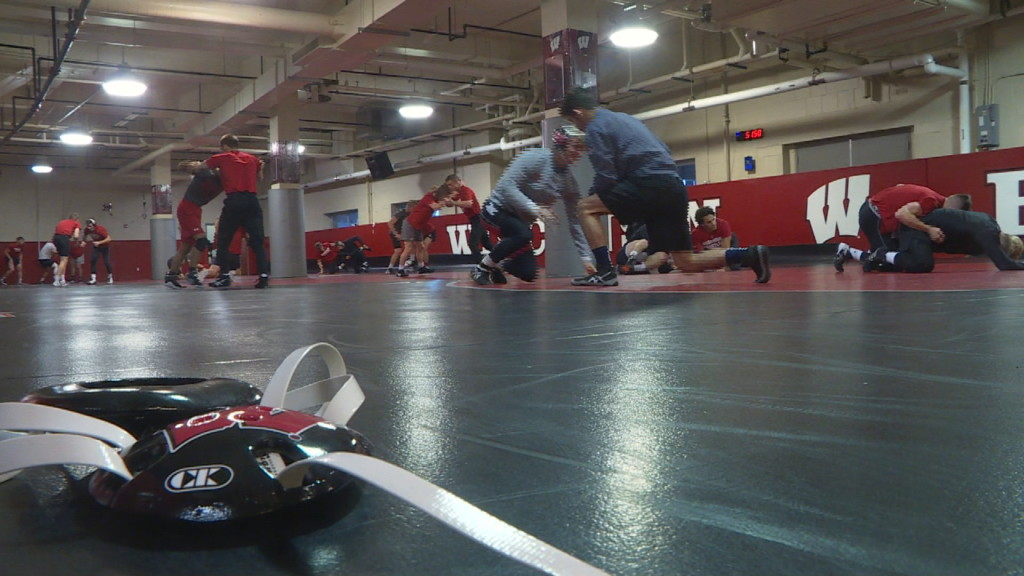 Tonight at 10: UW-Madison wrestler makes most of second chance