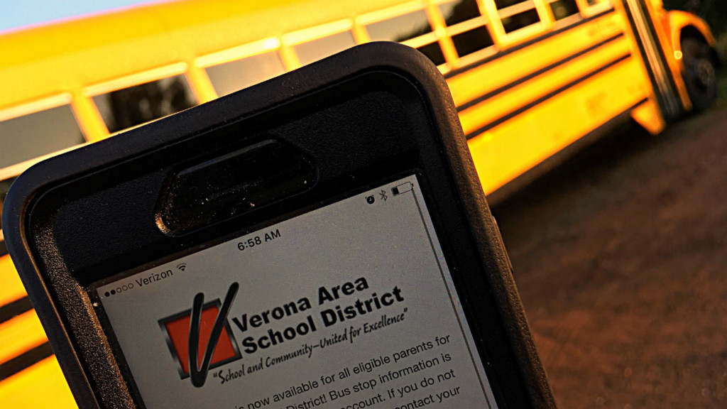 Verona Area School District launches new bus-tracking app for parents