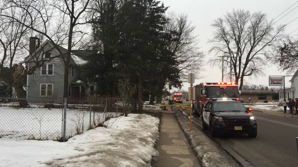 Chimney fire breaks out in Verona home