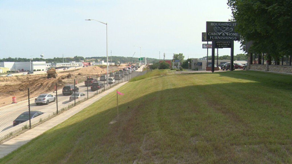 Expect delays and congestion at Verona Road, lane reductions all week