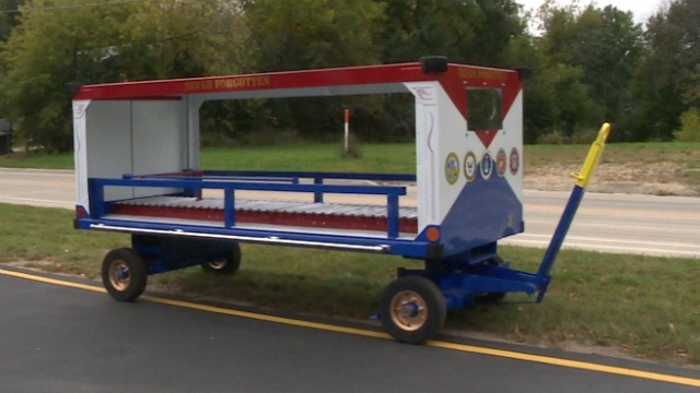 Vietnam veteran creates cart to welcome other veterans home