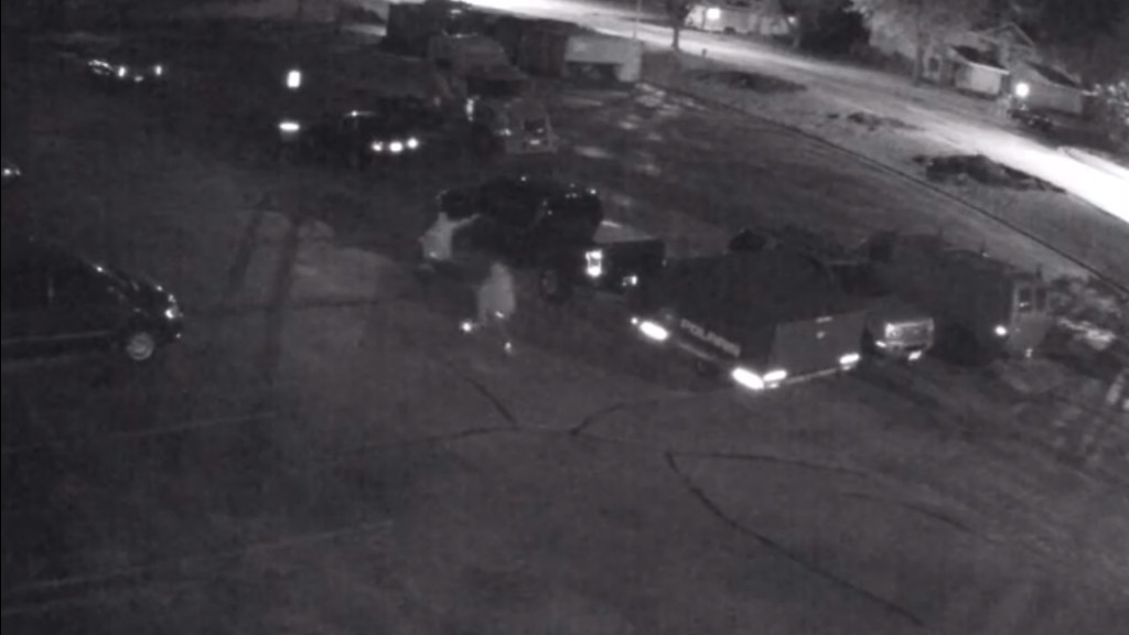 Beaver Dam police looking for people who shot out multiple windows in parking lot with BB guns