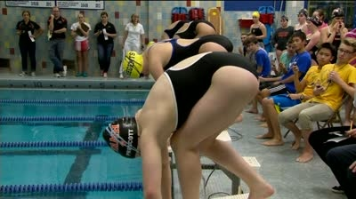 Beata Nelson continues her swimming domination