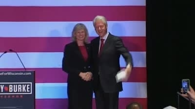 Bill Clinton appears in new Burke campaign ad