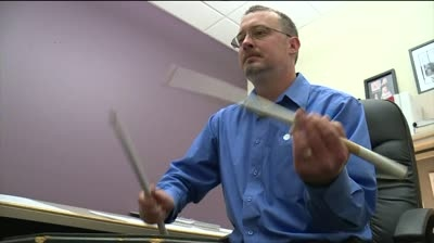 Madison Scouts Drum and Bugle Corps preps for Macy's parade