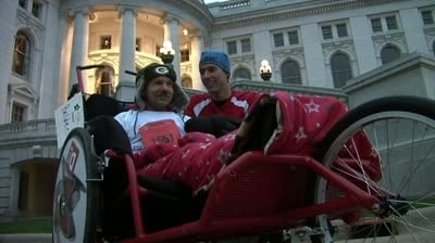 Organization helps people with disabilities finish marathon