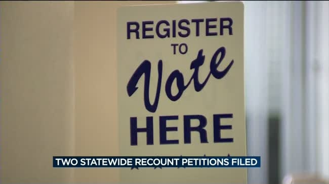 Elections commission to discuss statewide recount Monday
