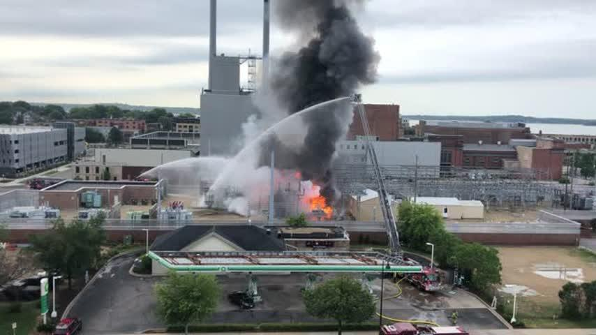 MFD: Foam used to fight fires at utility substations not believed to contain PFAS contaminants