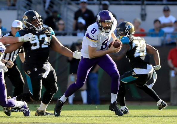 Vikings beat Jaguars 25-16 for 1st road win since September