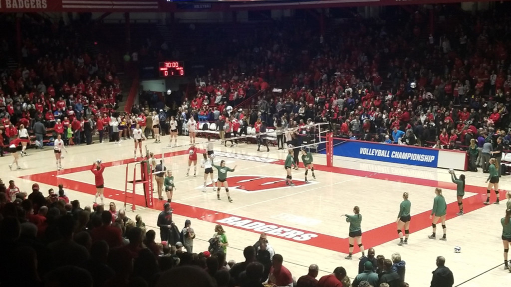 'Our best match is yet to come': Badger women's volleyball not satisfied with Sweet 16 appearance