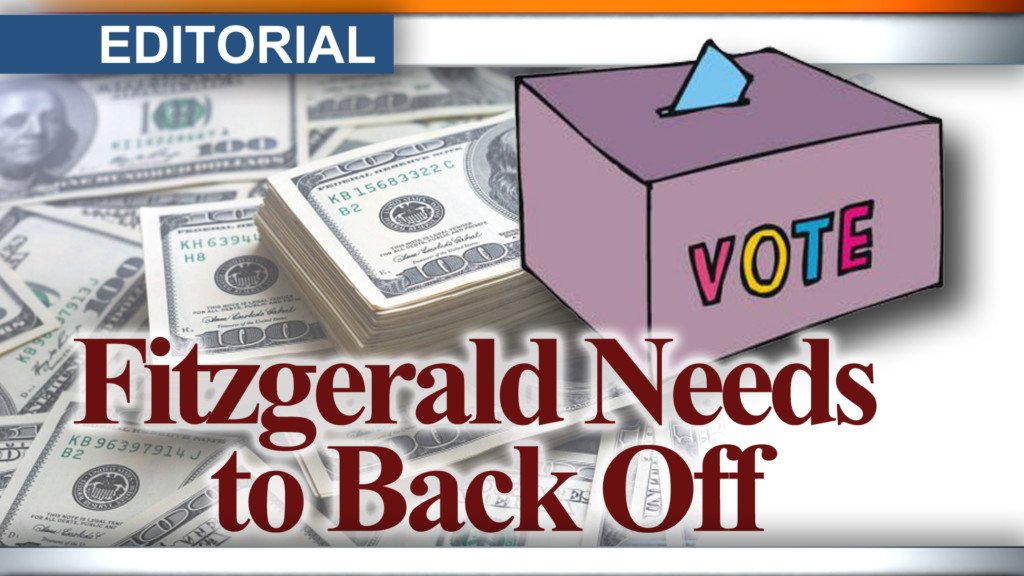Editorial: Fitzgerald needs to back off