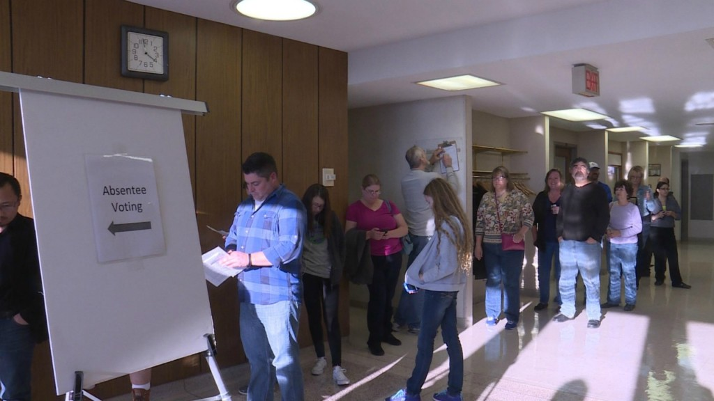 Early voting ends early in Rock County