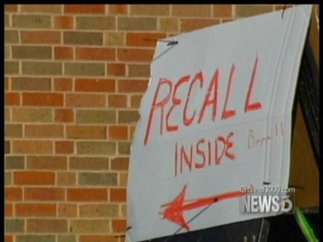 Committee considers recall amendment