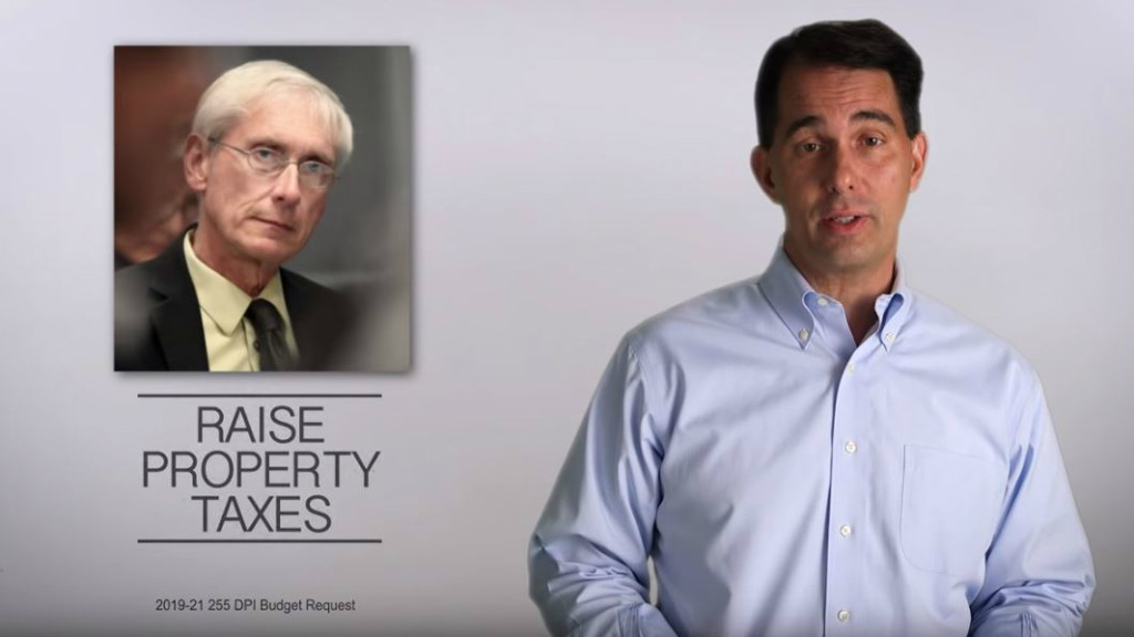 Reality Check: Walker goes after Evers on taxes