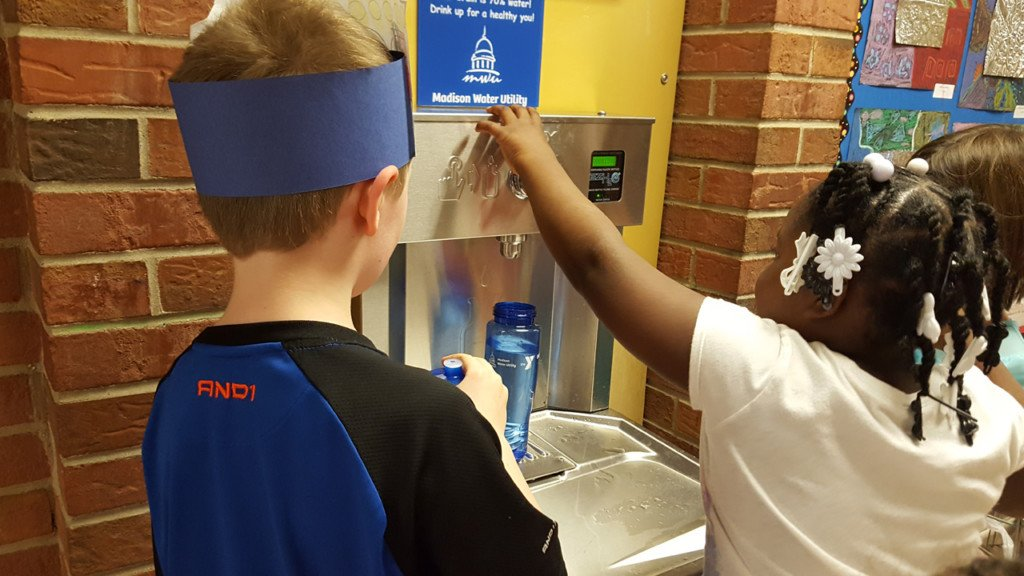 Six Madison schools to receive new water bottle refilling stations