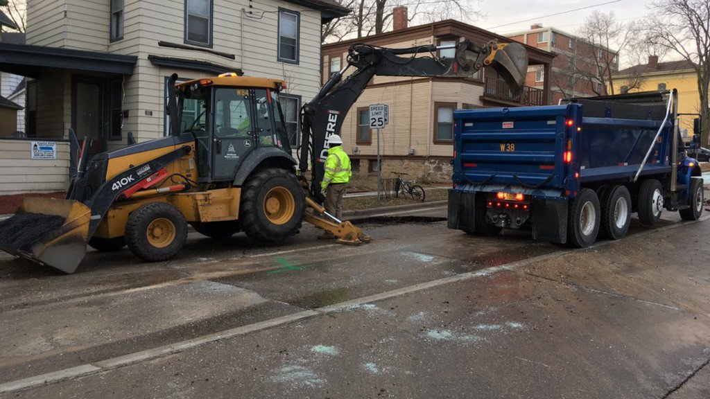 Wild winter weather taking toll on water mains
