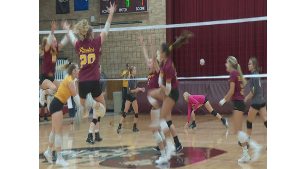 No. 1 ranked Waterloo volleyball team battles Belleville in non-conference action