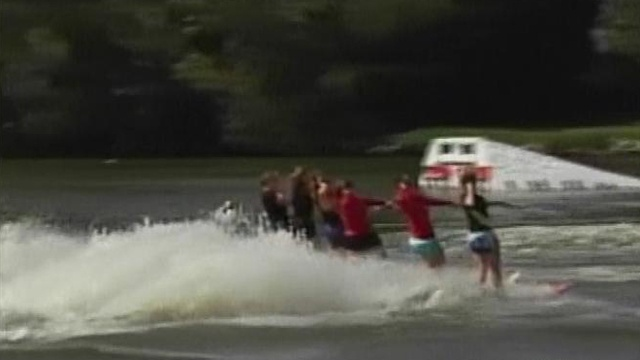 Waterskiers flock to Janesville for World Water Ski Show Tournament