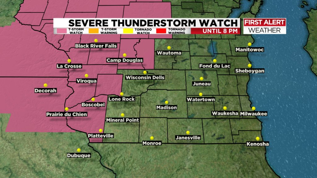 Severe thunderstorm watch Friday, plus humid, hot weather expected for Memorial Day weekend