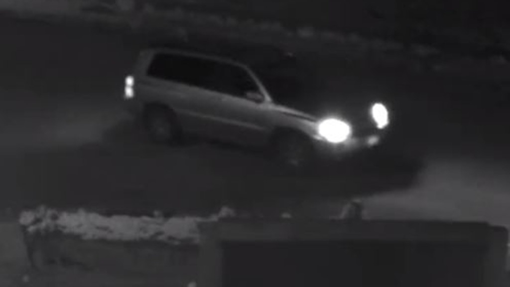 Police seek to ID SUV in surveillance image in connection with East Madison arson