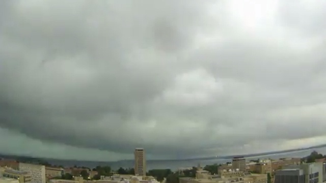 WATCH: Time lapse of Wednesday's storm