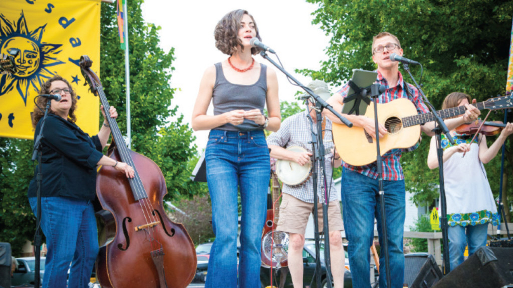 Spend the summer listening to free music in the suburbs