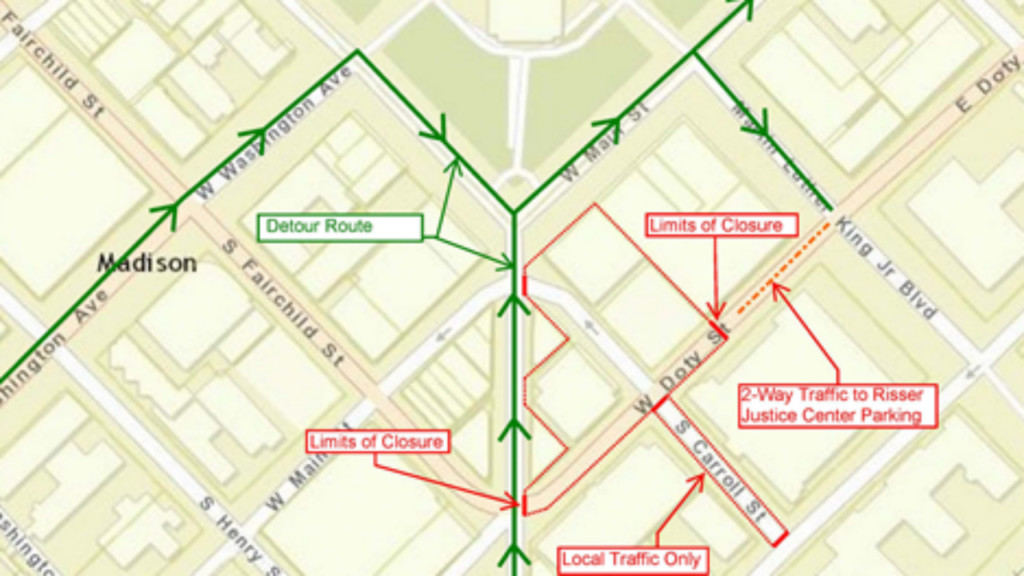 West Doty Street to be closed 5 days during crane removal
