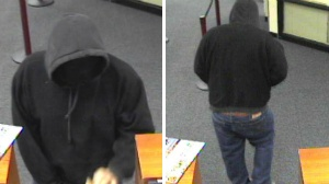 Images released in bank robbery investigation