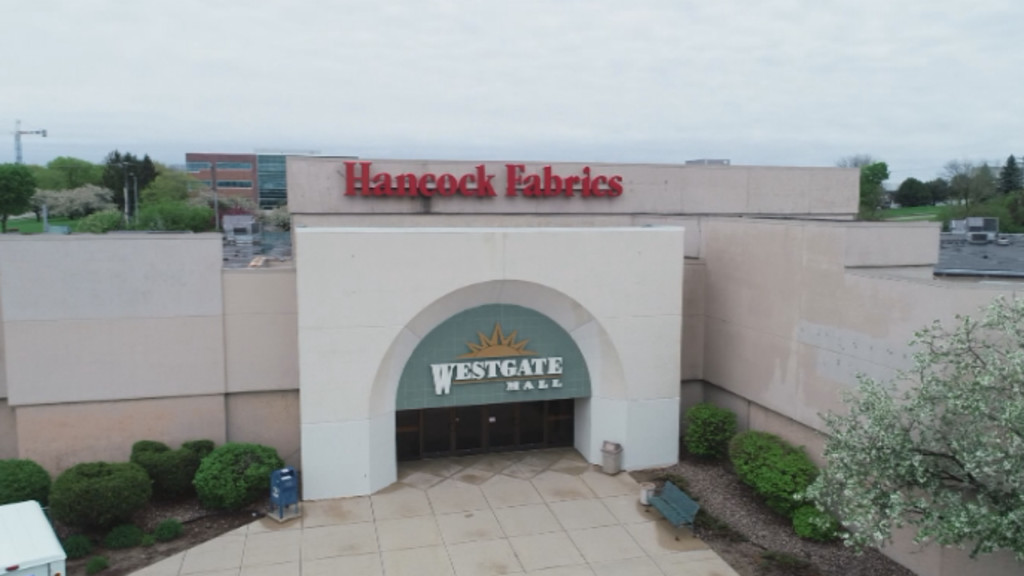 A photo of the soon-to-be demolished Westgate Mall