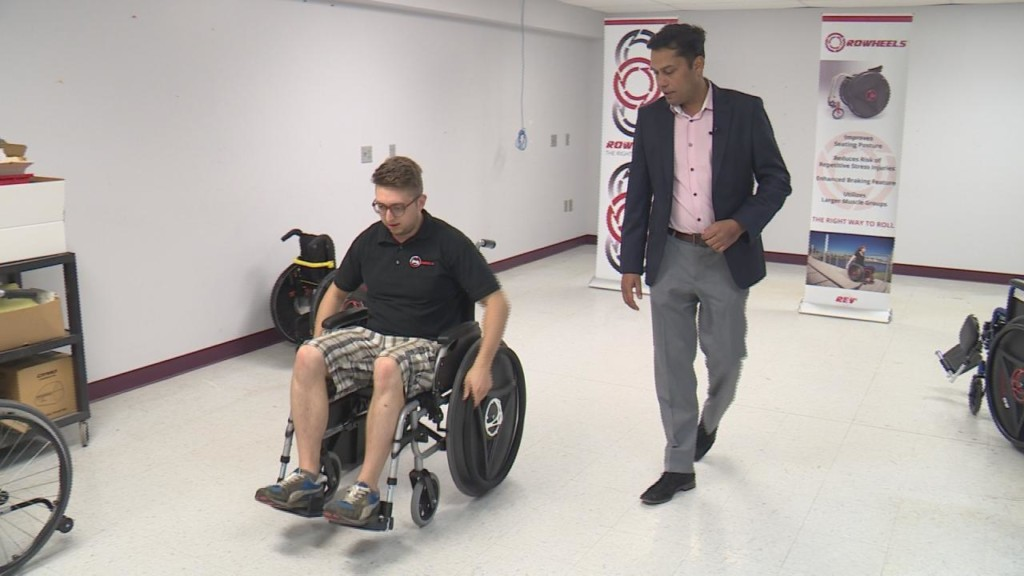 Middleton company looks to change wheelchair industry