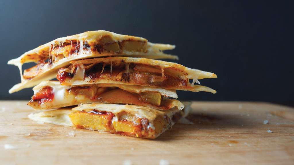 Recipe: Mellow and melty quesadillas